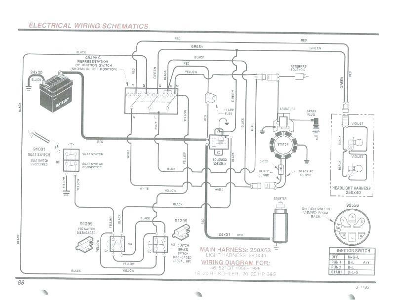 Wiring Diagram Briggs 17.5hpprofessional Engine Briggs and Stratton Intek 17 5 Wiring Diagram Wiring Diagram and Schematic Of Wiring Diagram Briggs 17.5hpprofessional Engine
