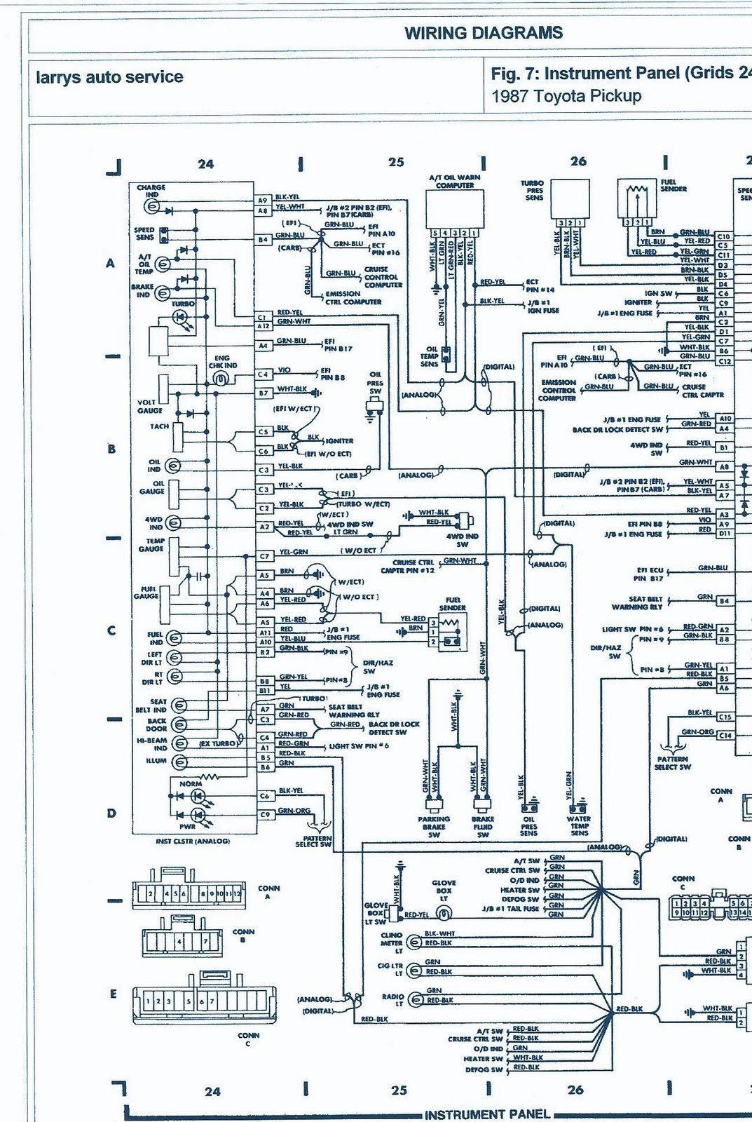 Wiring Diagram for 1993 toyota Pickup 1993 toyota Truck Electrical Wiring Diagram Of Wiring Diagram for 1993 toyota Pickup