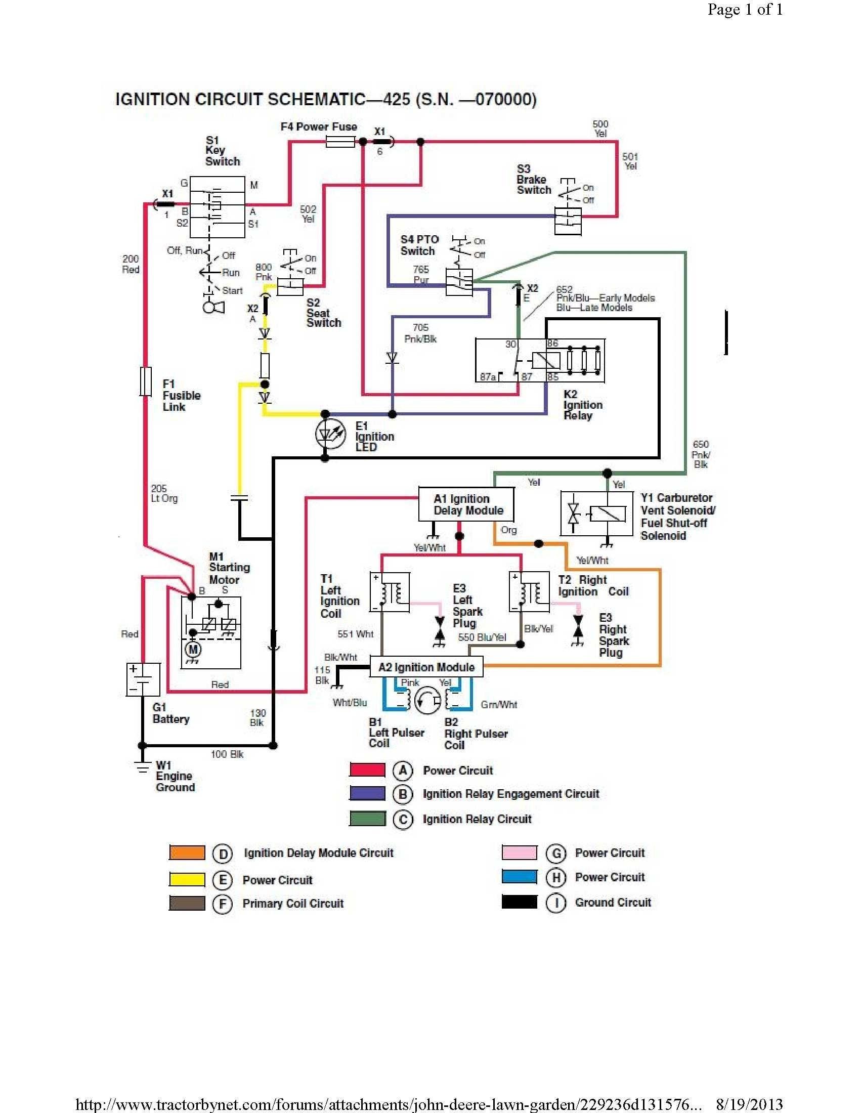 Wiring Diagram for A 345 John Deere Tractor John Deere 345 Electrical Schematic New