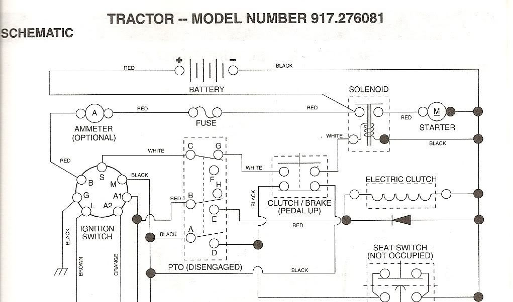 Wiring Diagram for Gt 5000 Tractor Craftsman Gt5000 Model 917 Wiring Diagram Of Wiring Diagram for Gt 5000 Tractor