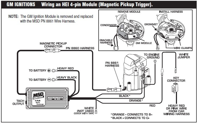 Wiring Diagram Of Distribuitor On 307 Oldmobile 1985 Mallory Hyfire 6al No Start Except In the Key On Position with Gm Hei Classicoldsmobile
