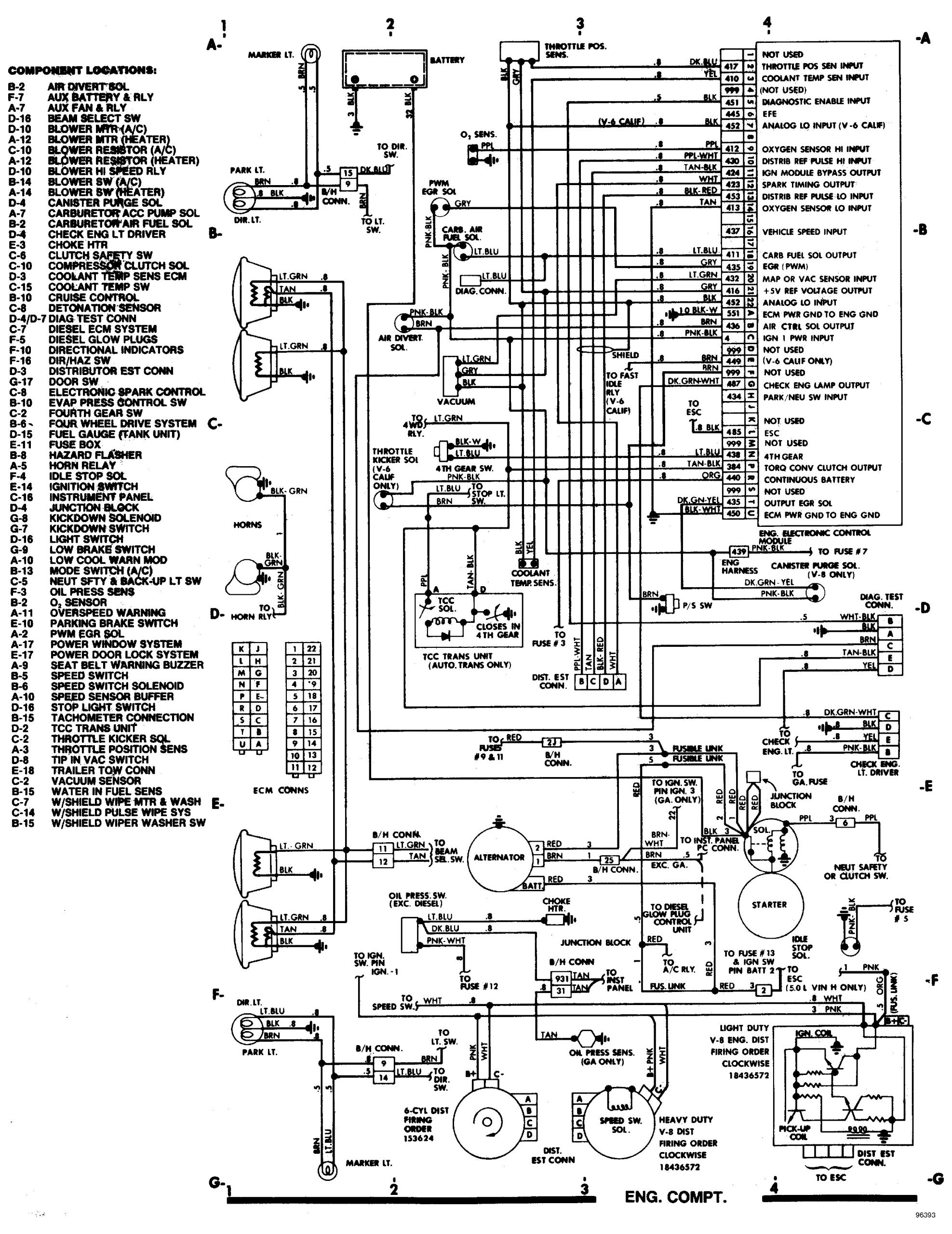 Wiring Diagram On A 1982 Shevy Truck Radeo 1982 Chevy Truck Wiring Diagram