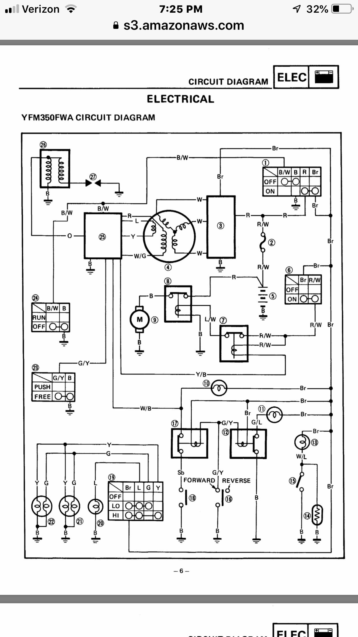 Yamaha Big Bear 350 Electric Diagram [diagram] 2001 Bear Tracker Wiring Diagram Full Version Hd Quality Wiring Diagram Of Yamaha Big Bear 350 Electric Diagram