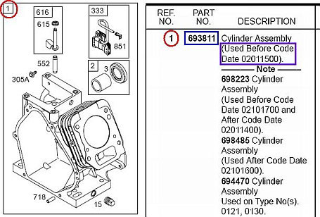 17.5 Briggs Parts so Finden Sie Die Motor-ersatzteilnummern Briggs & Stratton Of 17.5 Briggs Parts