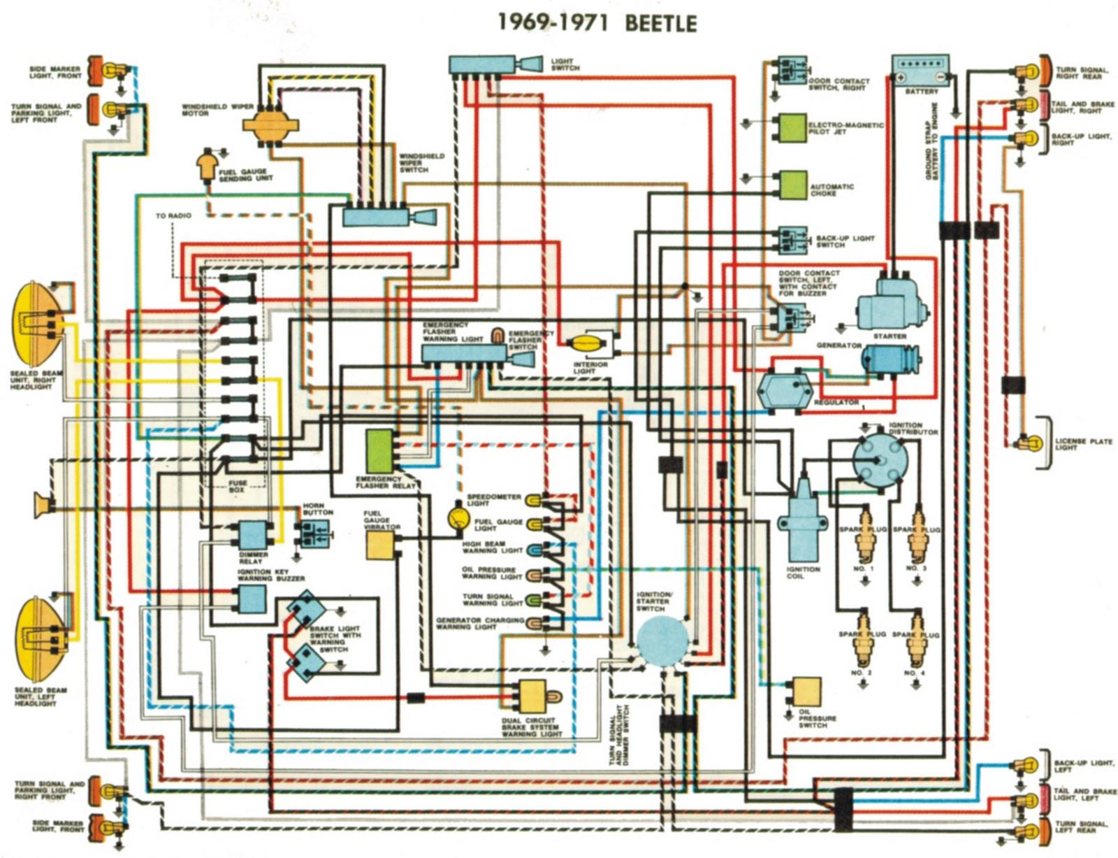2000 Beetle Wiring Diagram Madcomics: Vw Beetle Wiring Diagram Light Of 2000 Beetle Wiring Diagram