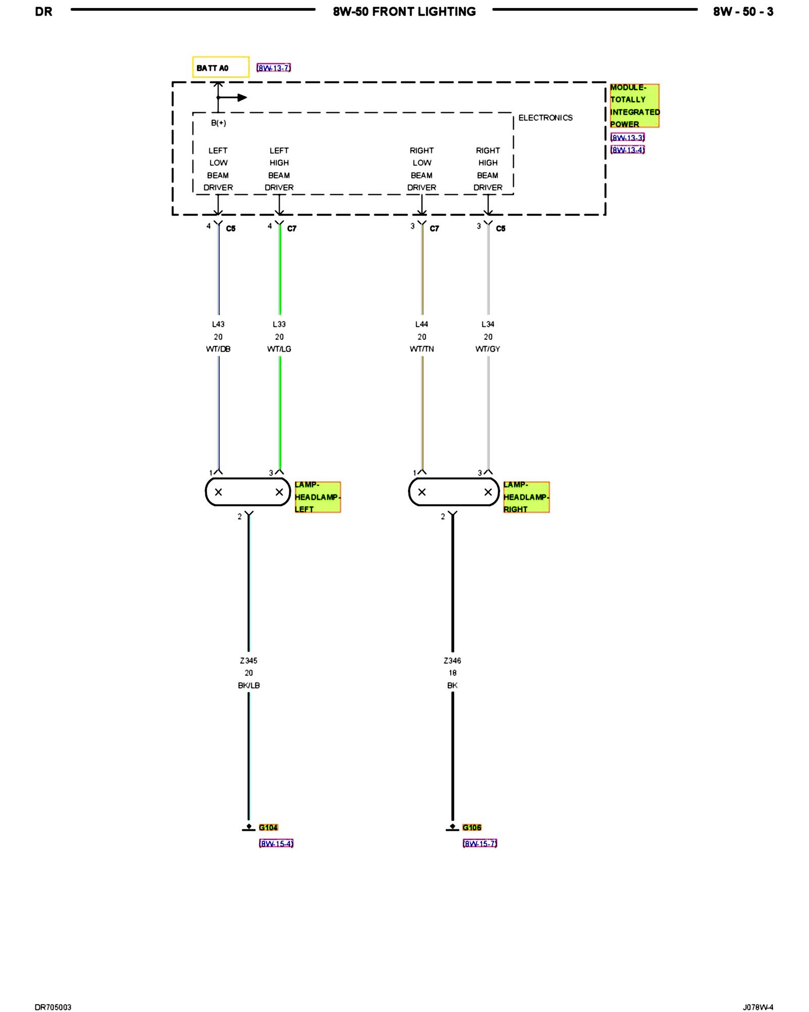 2016 Ram 2500 Wiper Wiring Diagram Diagram] 94 2500 Headlight Diagram Full Version Hd Quality … Of 2016 Ram 2500 Wiper Wiring Diagram