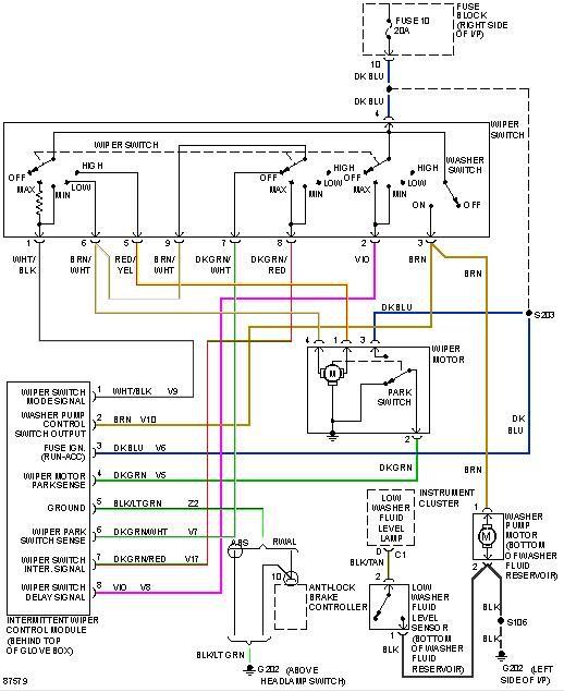 2016 Ram 2500 Wiper Wiring Diagram Wiper Problem – Dodgeforum.com Of 2016 Ram 2500 Wiper Wiring Diagram