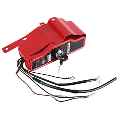 A Waterproof Key Switch that Will Work On A Predator 420 Cc Motor Gloglow Ignition Key Switch Box On/off Electric Engine Stop Switch with 2 Keys Fit for Honda Gx340 Gx390 11hp 13hp Engine Of A Waterproof Key Switch that Will Work On A Predator 420 Cc Motor