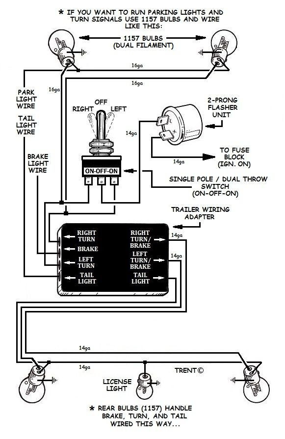 Can You Wire A 3 Prong Flasher Into A 2 Prong System How to Add Turn Signals and Wire them Up Of Can You Wire A 3 Prong Flasher Into A 2 Prong System
