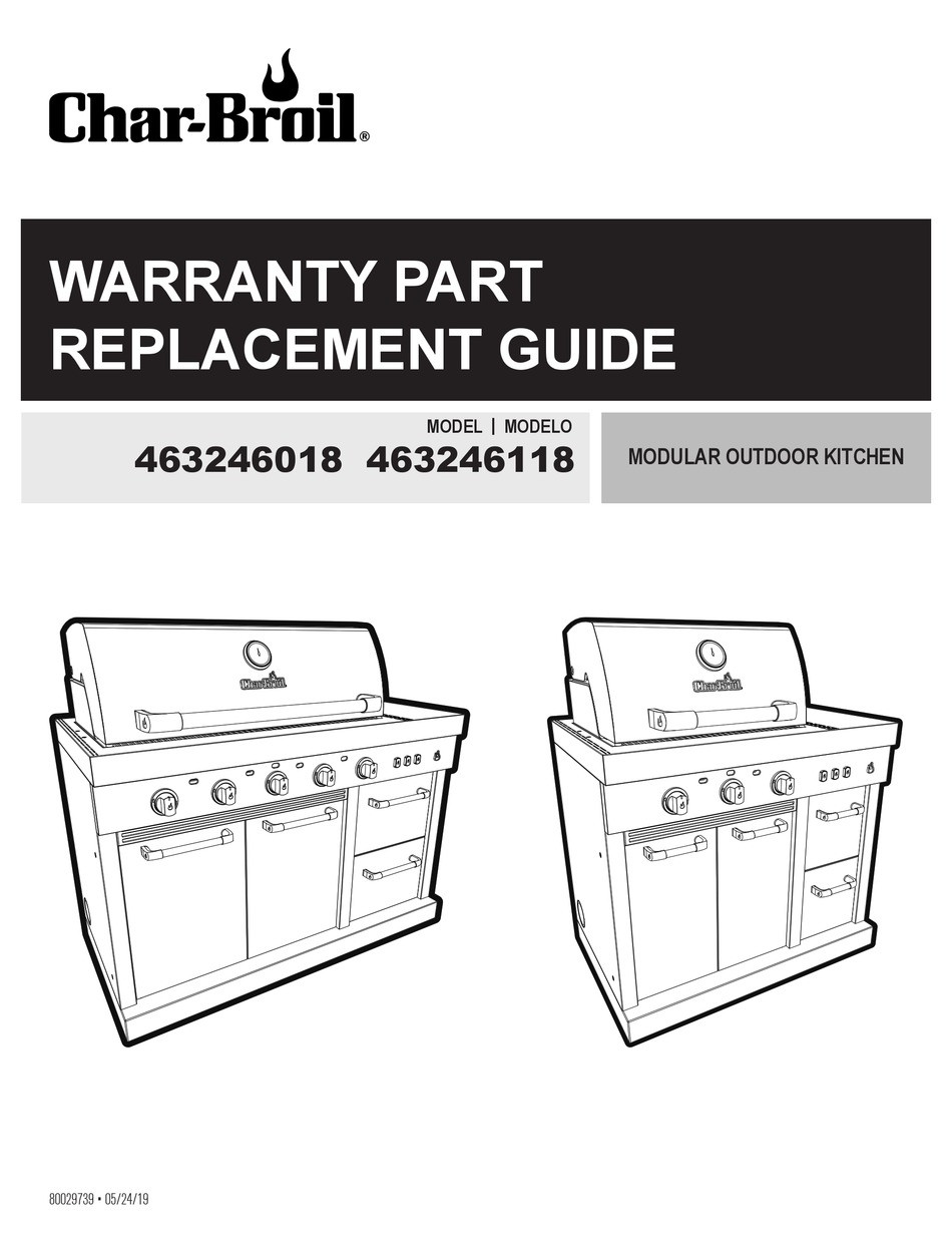 Charbroil 463246118 Wiring Diagram Char-broil 463246018 Replacement Manual Pdf Download Manualslib Of Charbroil 463246118 Wiring Diagram