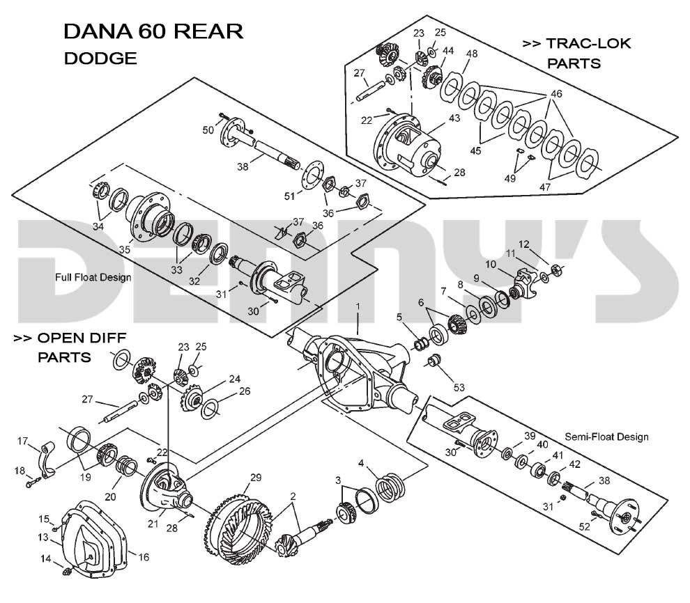 Dana 60 Front End Rear End Diagram Dana 60 Rear – Dodge Of Dana 60 Front End Rear End Diagram