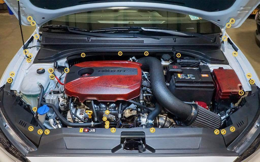 Details Of the 2016 Hyundai Veloster Engine Diagram Dress Up Bolts Titanium Hardware Engine Bay Kit – Hyundai Veloster … Of Details Of the 2016 Hyundai Veloster Engine Diagram