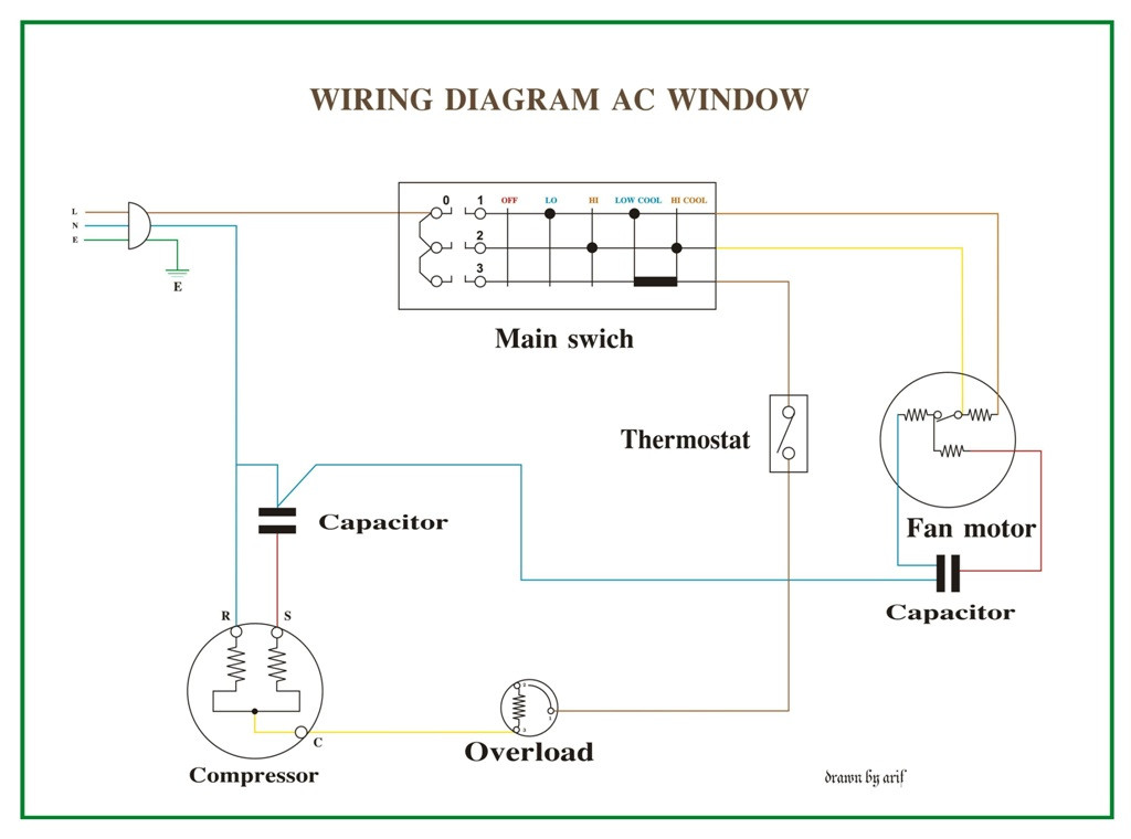 Ditch Witch 3700 Wiring Diagram Diagram] Hb Window Unit Air Conditioner Wiring Diagrams Full … Of Ditch Witch 3700 Wiring Diagram
