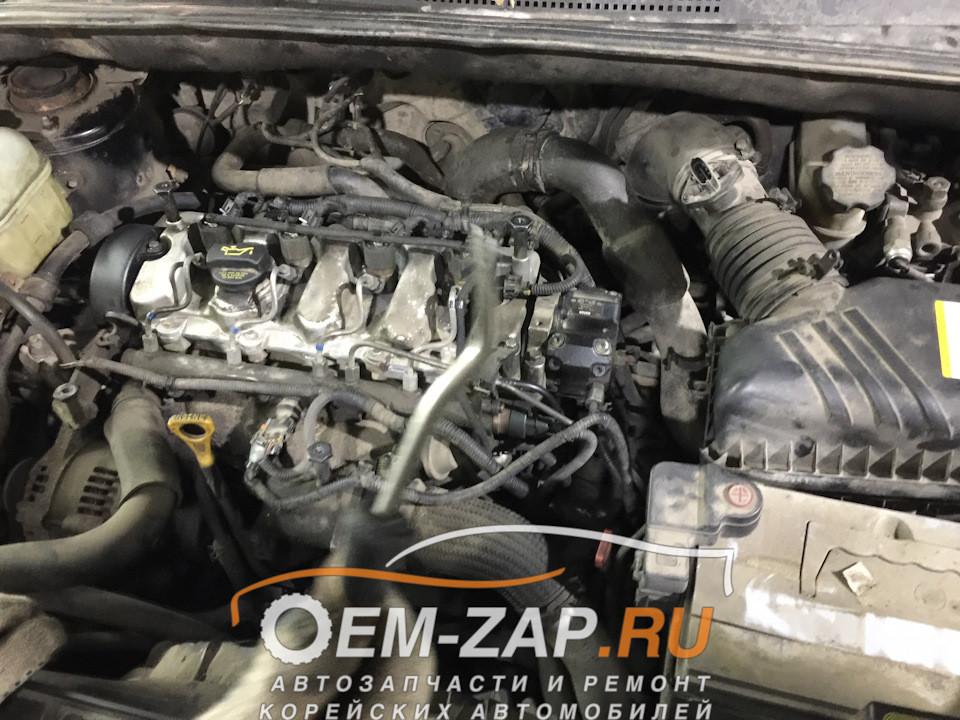 где стоит датчик распредвала на хундай траджет 2 литра Замена датчика положения коленчатого вала на Hyundai Tucson 2.0 … Of где стоит датчик распредвала на хундай траджет 2 литра