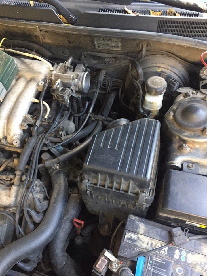 где стоит датчик распредвала на хундай траджет 2 литра Замена датчика распредвала на 2.7 моторе — Hyundai sonata, 2.7 л … Of где стоит датчик распредвала на хундай траджет 2 литра