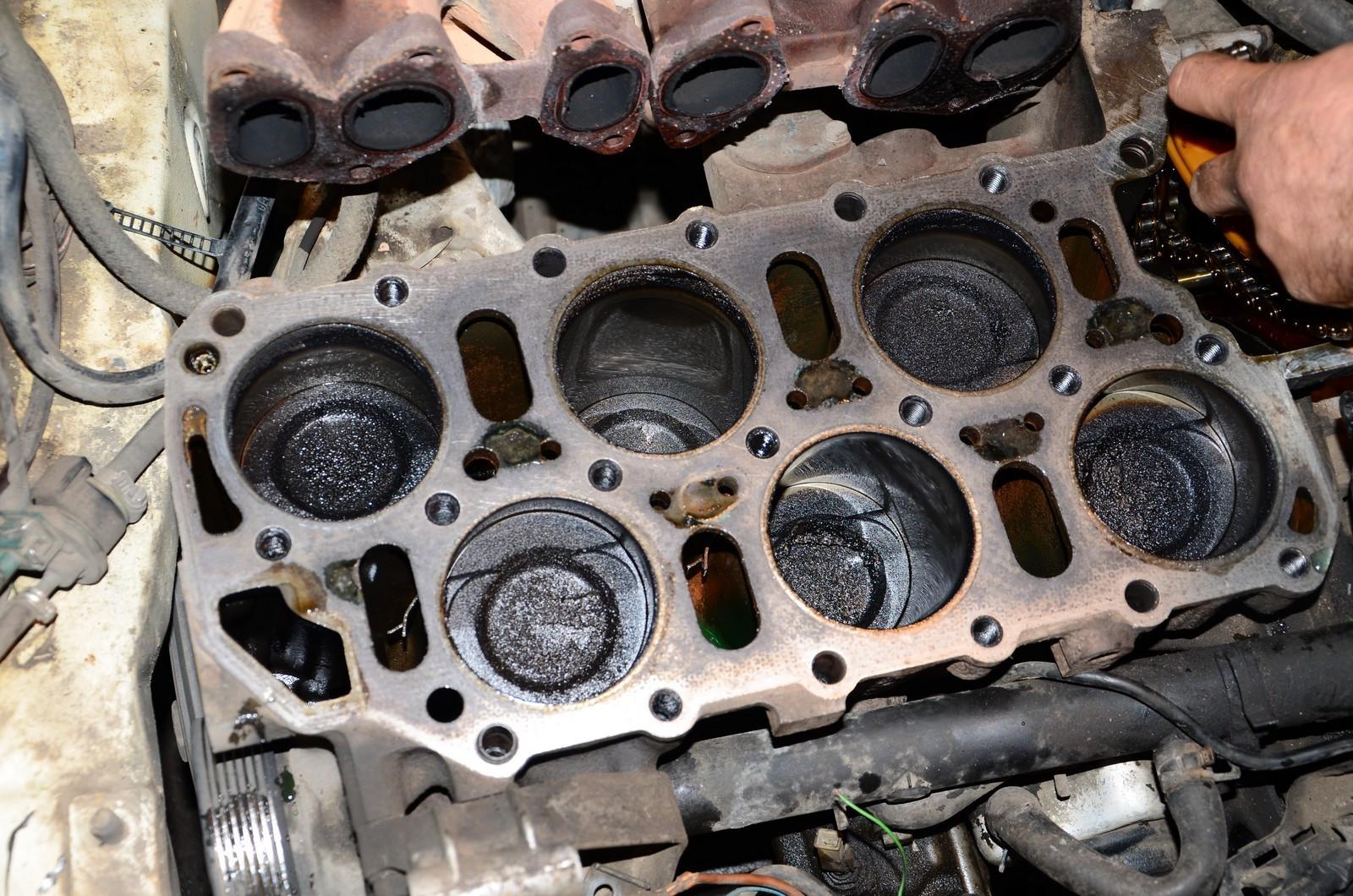 распред валы к вр6 280 174 л с Как нельзя ремонтировать двигатели: разбираем Vr6 после неудачной ...