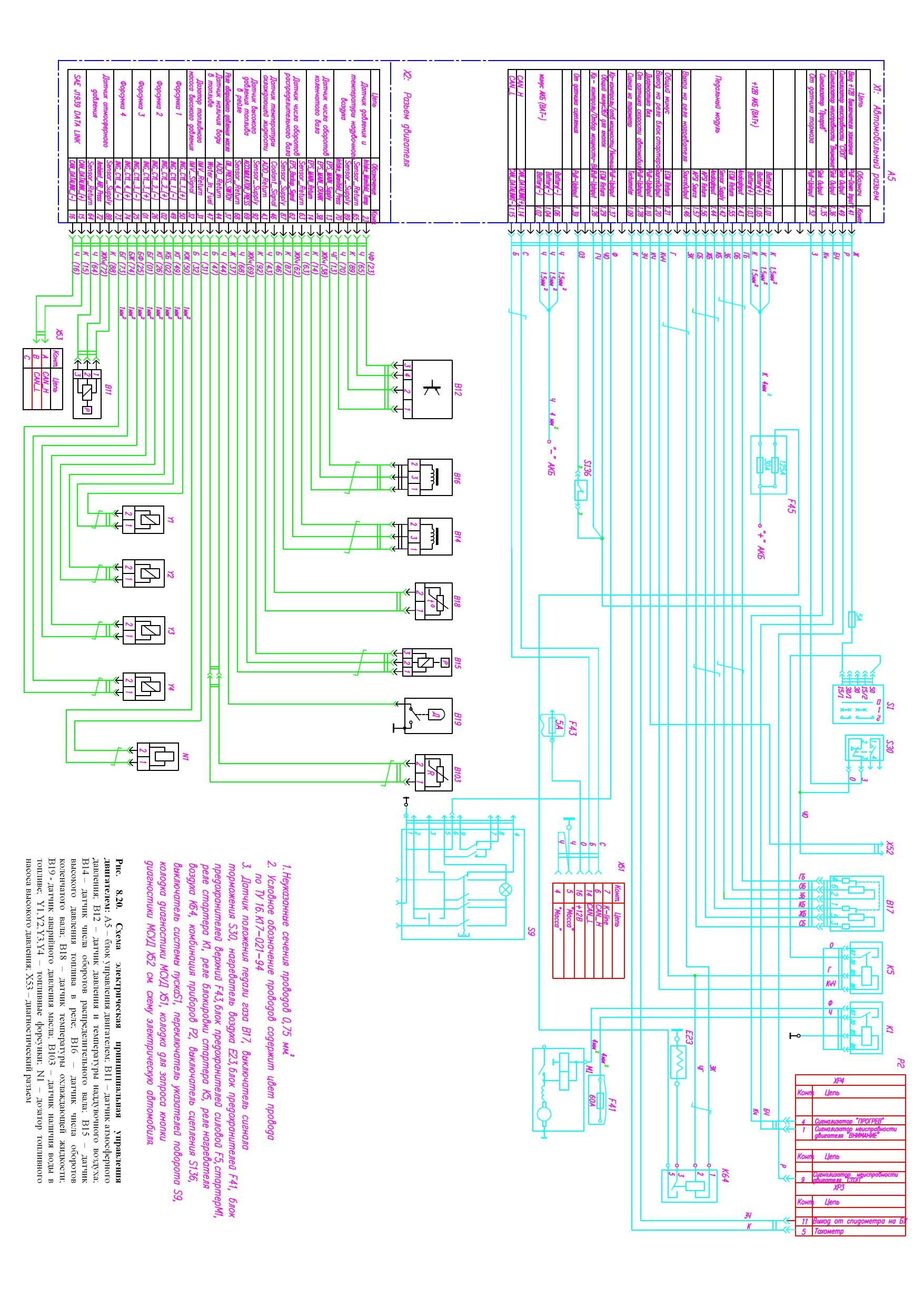 электросхема камминз 14 Электросхема Газель (с двигателем Cummins) » Ремонт, тюнинг и ...