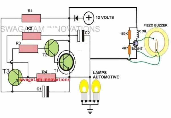 Does A 2 Wire Flasher Have Power On Both Termals 2-pin Motorcycle Turn Signal Flasher Indicator Circuit with Beeper … Of Does A 2 Wire Flasher Have Power On Both Termals