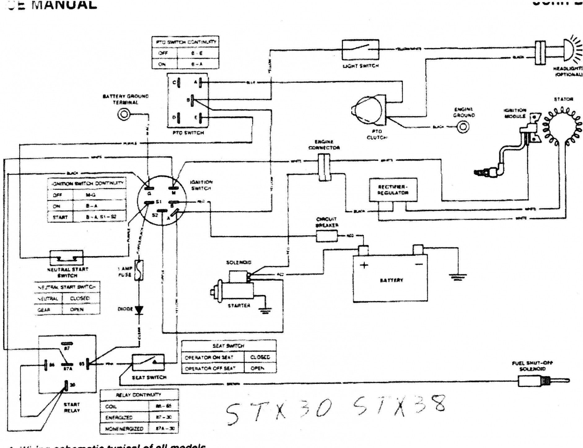 Jd 345 Lawn Tractor Wiring Pin On Wiring Diagram Of Jd 345 Lawn Tractor Wiring