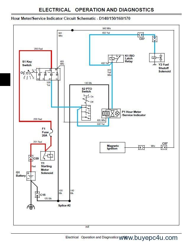 John Deere D100 Wiring Schematic Diagram] John Deere D160 Wiring Diagram Full Version Hd Quality … Of John Deere D100 Wiring Schematic