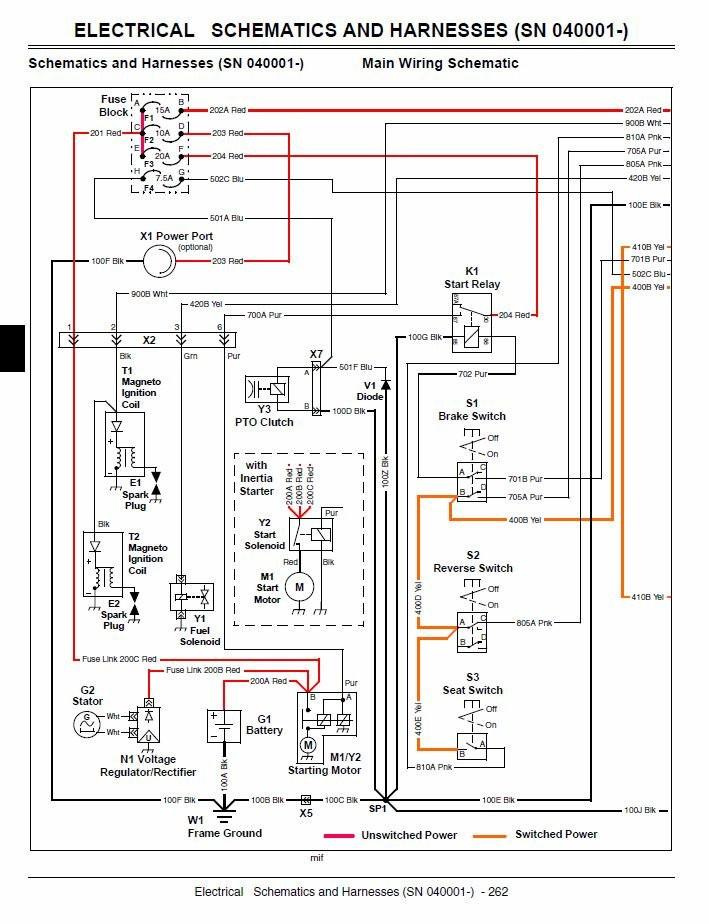 John Deere D100 Wiring Schematic Diagram] John Deere X300 Fuse Box Diagram Full Version Hd Quality … Of John Deere D100 Wiring Schematic