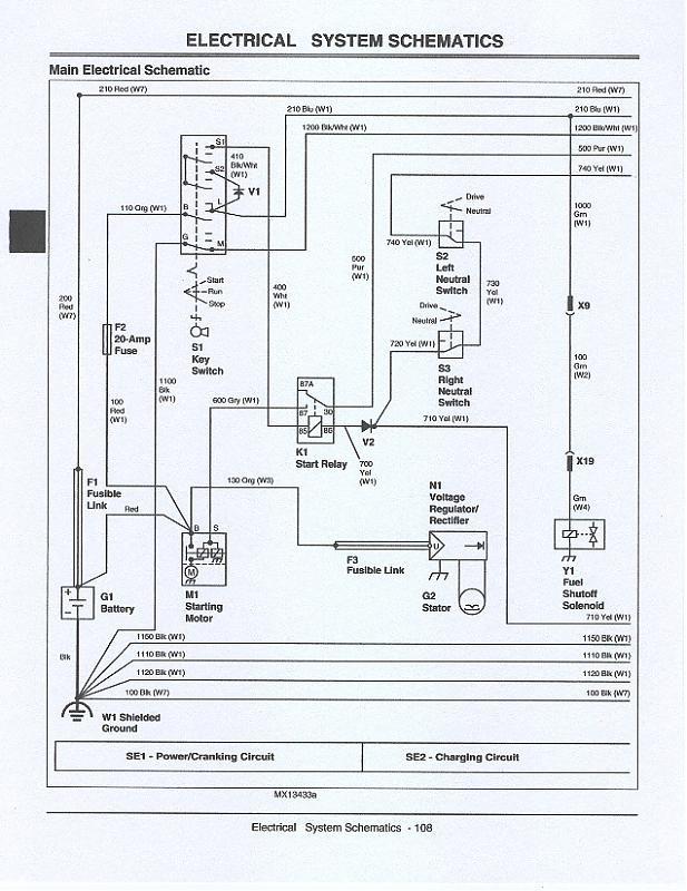 John Deere D100 Wiring Schematic Jd Quick Trac 647 Wiring Diagram Lawnsite™ is the Largest and … Of John Deere D100 Wiring Schematic