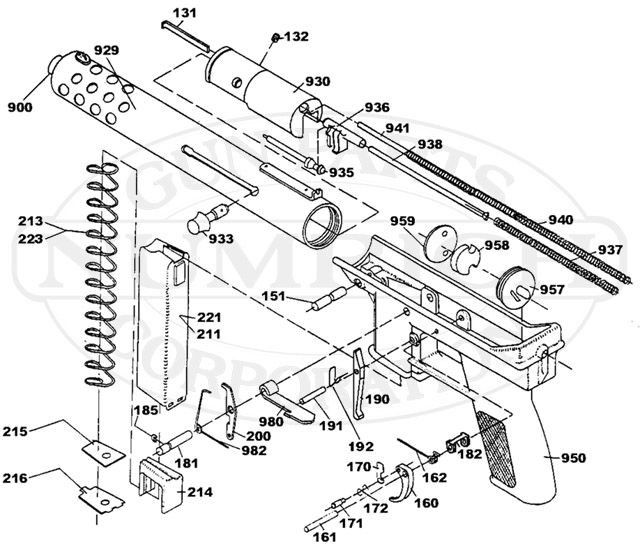 Schematic and Plans Of the Intratec Tec-22 Pin On Guns Of Schematic and Plans Of the Intratec Tec-22