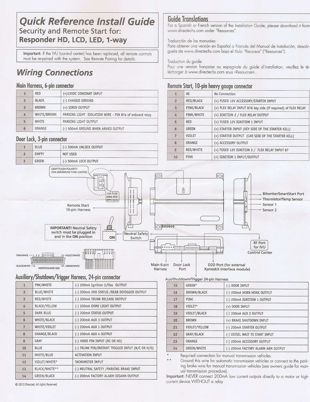 Viper 5906v Installation Installing Viper 5906v to ford Mustang 2005 Of Viper 5906v Installation