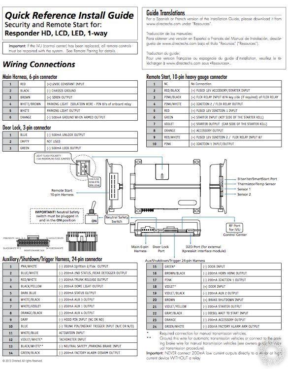 Viper 5906v Installation Viper 5906v, Idatalink Ads-alca Dl-ch5 Of Viper 5906v Installation