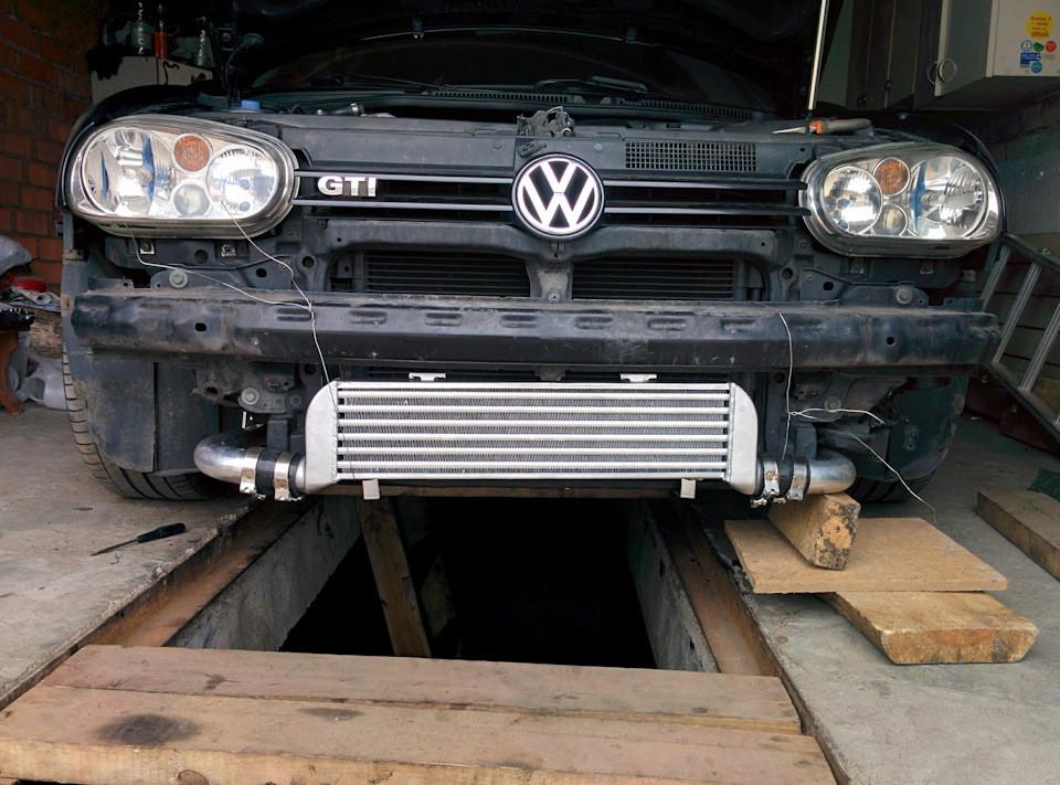 Vw Bora 1.8t подкапотка Долгожданная установка фронтального интеркулера — Volkswagen Golf … Of Vw Bora 1.8t подкапотка