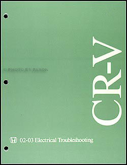 Wiring Diagram Honda Crv 2003 2.4l 2002-2004 Honda Cr-v Electrical Troubleshooting Manual original Of Wiring Diagram Honda Crv 2003 2.4l