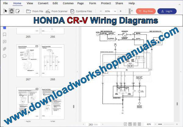Wiring Diagram Honda Crv 2003 2.4l Honda Cr-v Workshop Manual Of Wiring Diagram Honda Crv 2003 2.4l
