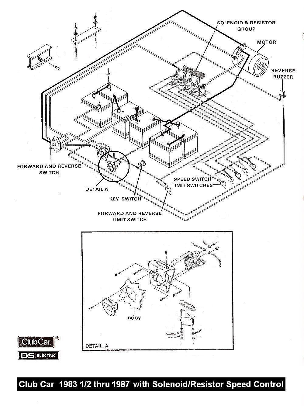 Wiring for 1988 Golf Cart C 1988 Club Car Direction Control Switch Wiring Scmatic In 2021 … Of Wiring for 1988 Golf Cart C