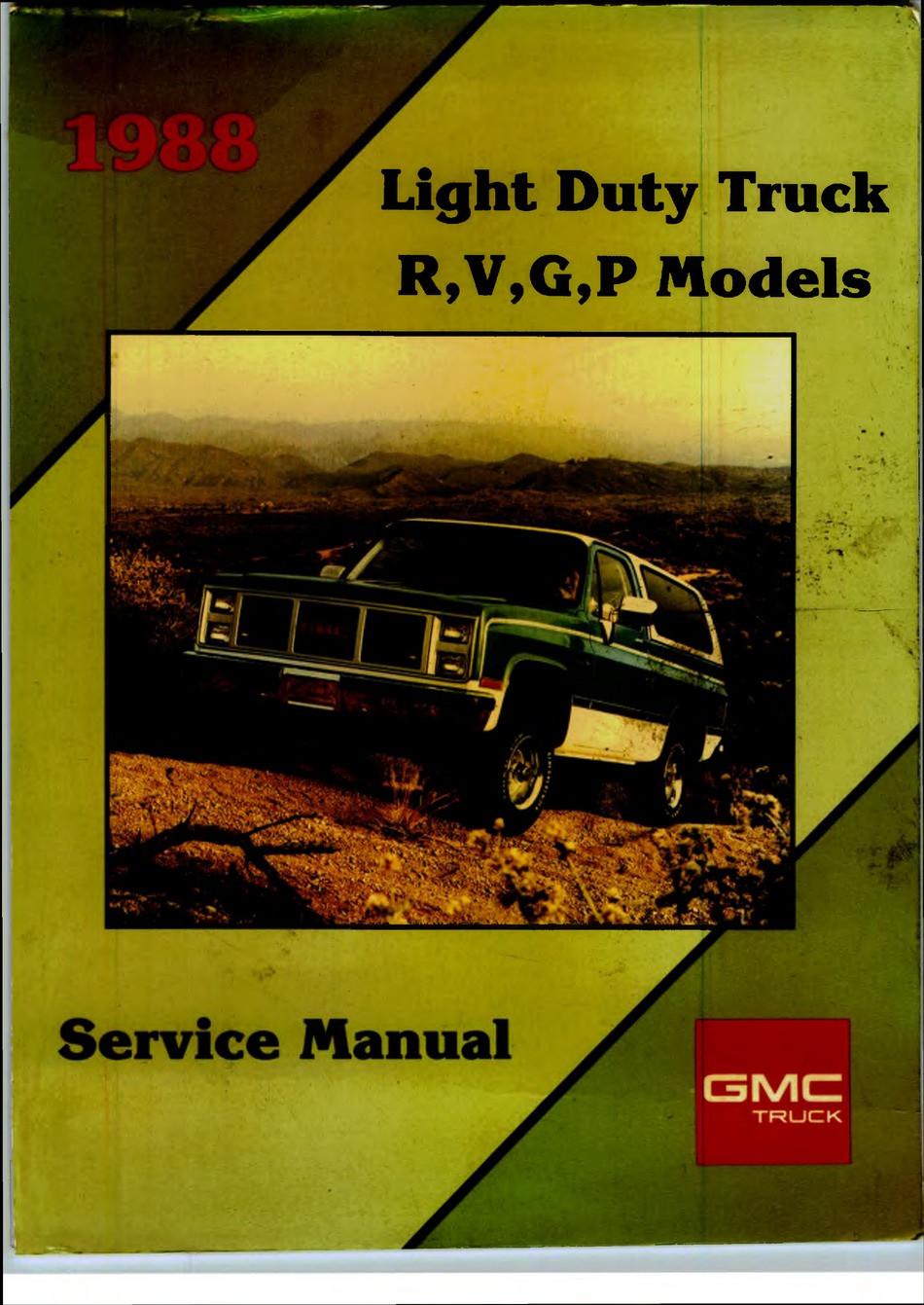 Wiringdiagram for Chevy Pickup 84 3/4 ton 292 Engine 2 Wheel Drfor Radio Gmc G Service Manual Pdf Download Manualslib Of Wiringdiagram for Chevy Pickup 84 3/4 ton 292 Engine 2 Wheel Drfor Radio